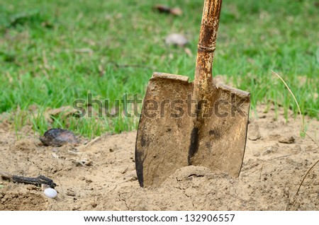 Shovel and Soil