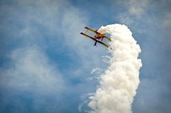Show Plane at an Air Show