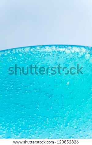 shower gel texture