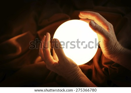 Showing the future - Crystal ball #275366780