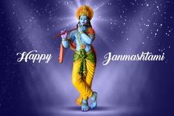 Shree Krishna, Hindu god Krishna, Happy Janmashtami