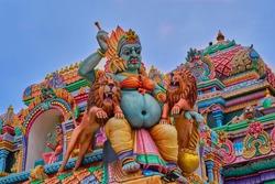 Shri Badrakali Amman Temple  in Trincomalee, Sri Lanka