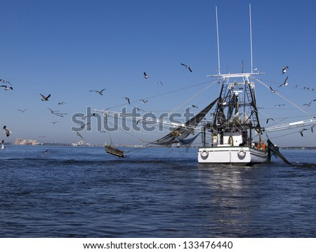 Shrimp Boat in Biloxi