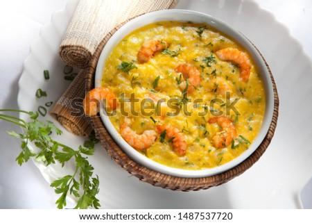 Shrimp bobo  Traditional Brazilian Food Foto stock ©