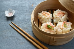 Shrimp Shumai, a steamed dish to enjoy the sweet tenderness of dried sakura shrimp