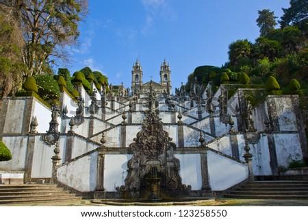 Shrine of Good Jesus of the Mountain, Braga, Portugal