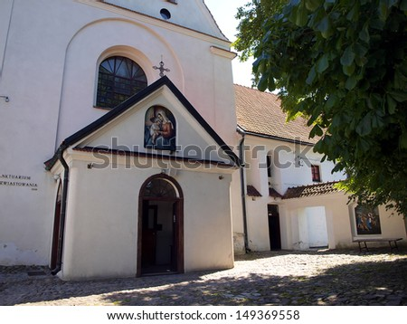 Shrine of Our Lady of Kazimierz, the Church of the Annunciation Monastery and Reformed, Kazimierz Dolny, Poland