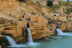 Shushtar, Historical Hydraulic System, inscribed as a masterpiece of creative genius, can be traced back to Darius the Great in the 5th century B.C
