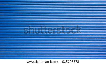 Shutter Door metal texture surface