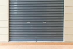 shutter steel door - home security