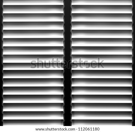 Shutters window background