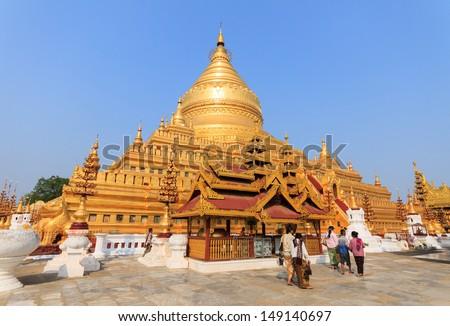 Shwemawdaw padoda Myanmar