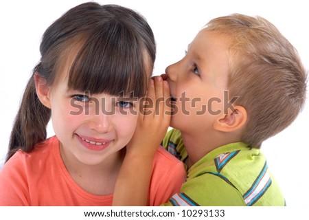 Siblings sharing secrets
