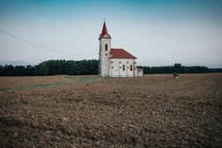 Sibrik chapel in Zalahashagy, Hungary