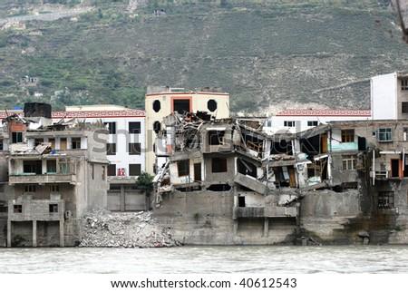 Sichuan Earthquake Ruins
