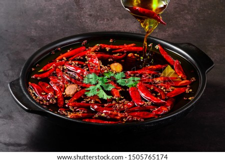 Sichuan hot pot clear oil hot pot bottom material