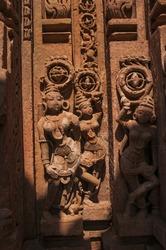 Siddhnath Baradwari Siddheshwar Temple, an ancient monument, Omkareshwar, Madhya Pradesh, India.