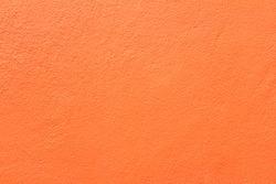 Side of orange wall