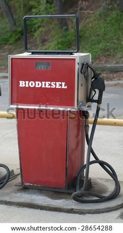 side view of bio diesel pump
