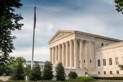Side View of the Supreme Court OF the US