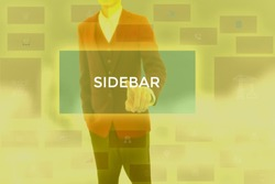 SIDEBAR - technology and business concept