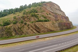 Sideling Hill in the Allegheny Mountains