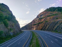Sideling Hill with Interstate 68 in Hancock, MD