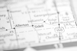 Sidell. Illinois. USA