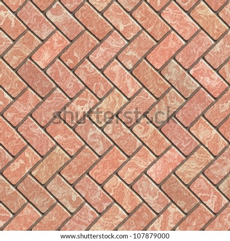 Sidewalk blocks pink background