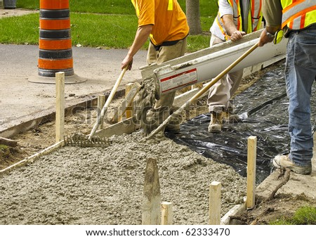 Sidewalk reconstruction project