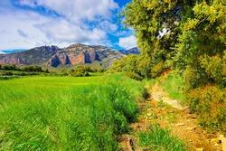 Sierra de Guara in Aragon, Spain