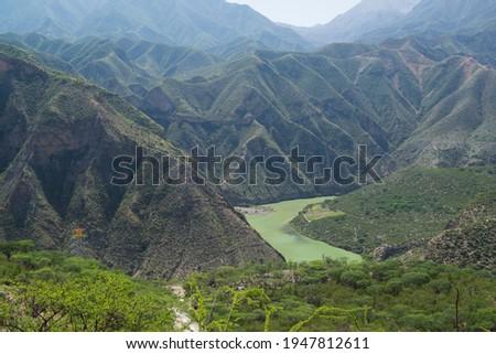 Sierra gorda, Queretaro, Mexico landscape view Foto stock ©