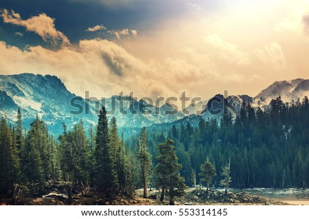 Shutterstock Sierra Nevada mountains