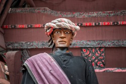 Sigale Gale, the Traditional Wooden Puppet from Batak