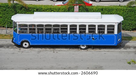 Sightseeing bus in Florida powered by clean fuel