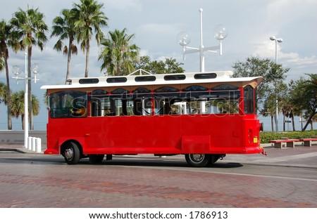 Sightseeing trolley