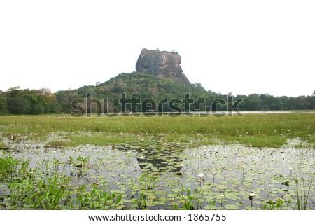Sigiriya - Sri Lanka.- (with space for text)