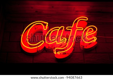 sign of cafe