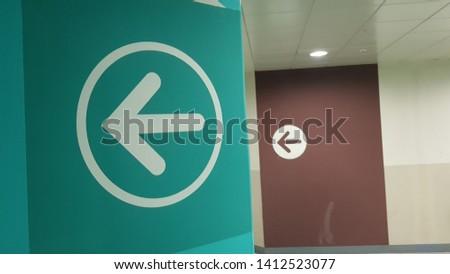 sign symbol arrow icon design #1412523077