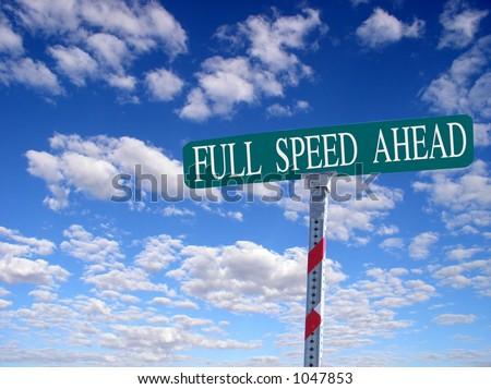 Full Speed Ahead Illusion