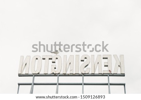 signage in the city, signage inspiration