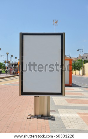 Signage Marketing Business Services Empty Copy Space