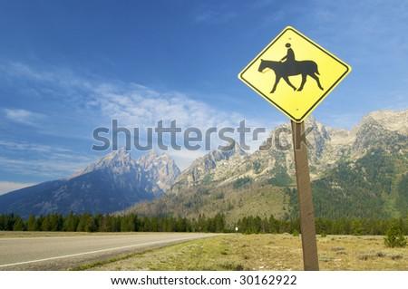 Signal in Grand Teton National Park