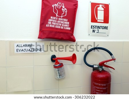 Signaling devices for emergency management in a nursery