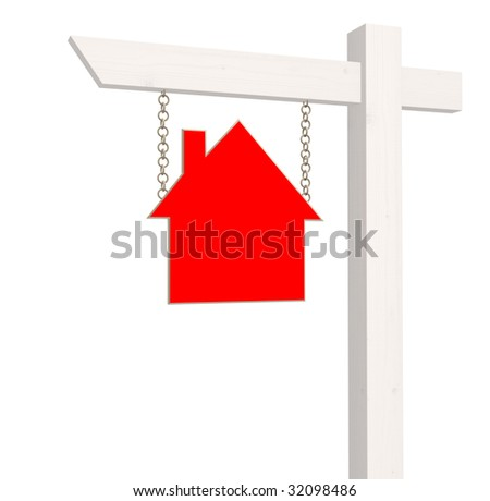 Signboard - house for sale