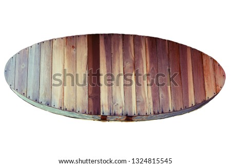 signboards messages empty wooden planks texture wood background, wood banners with nails texture, Old vintage planks wood board hardwood #1324815545