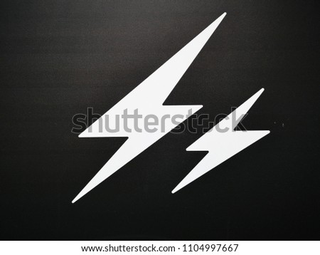 signs and symbols with black background #1104997667