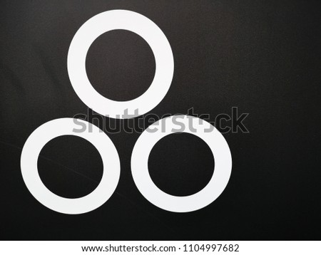 signs and symbols with black background #1104997682