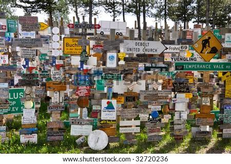 signs of watson lake