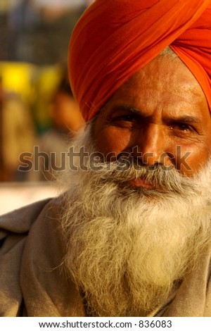 Sikh Man in India